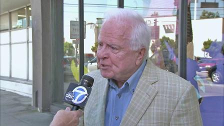 Former Los Angeles Mayor Richard Riordan speaks to Eyewitness News in this undated file photo.