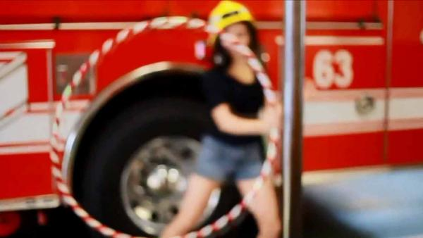Hula-hoop video at LAFD station raises eyebrows