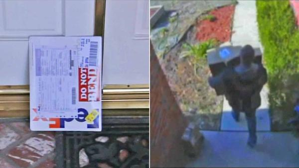 Thieves target gift packages left outside