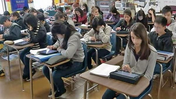 California drops 8th-grade algebra requirement