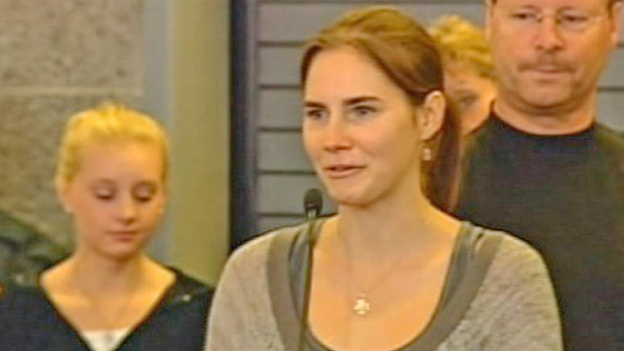 Amanda Knox, the American college student first convicted and then acquitted of murder in Italy, is seen in this undated file photo.