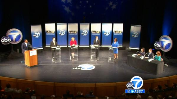 Spending increases as LA mayoral election nears
