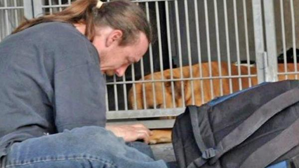 Stranger helps IE man reunite with taken dog