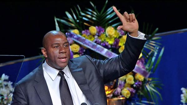Magic focuses on joy, wins at Buss service