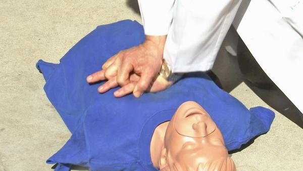 CPR training key for heart attack survival rate