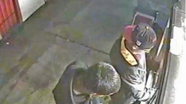 Failed burglary caught on tape; 1 sought
