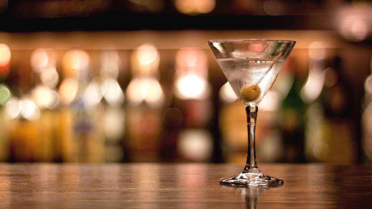 File photo of a Martini.