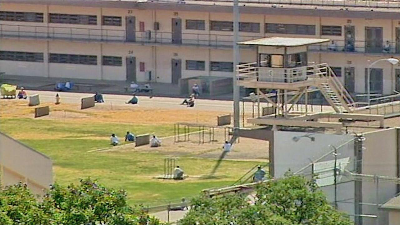 A prison is seen.