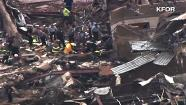 KFOR helicopter video of the Plaza Towers Elementary School in Moore, Okla.