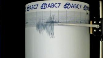 ABC7 quake cam records 5.7 quake in Northern California on May 23, 2013.