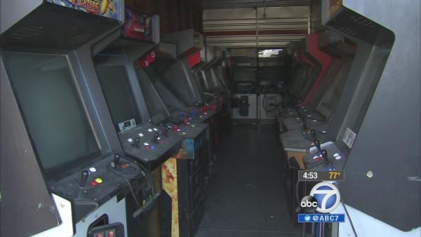 Glendale to sell vintage arcade games