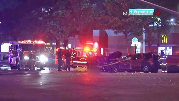 Third victim dies in Fontana high-speed crash