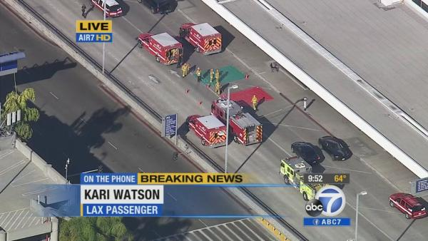 LAX shooting: Woman heard shots