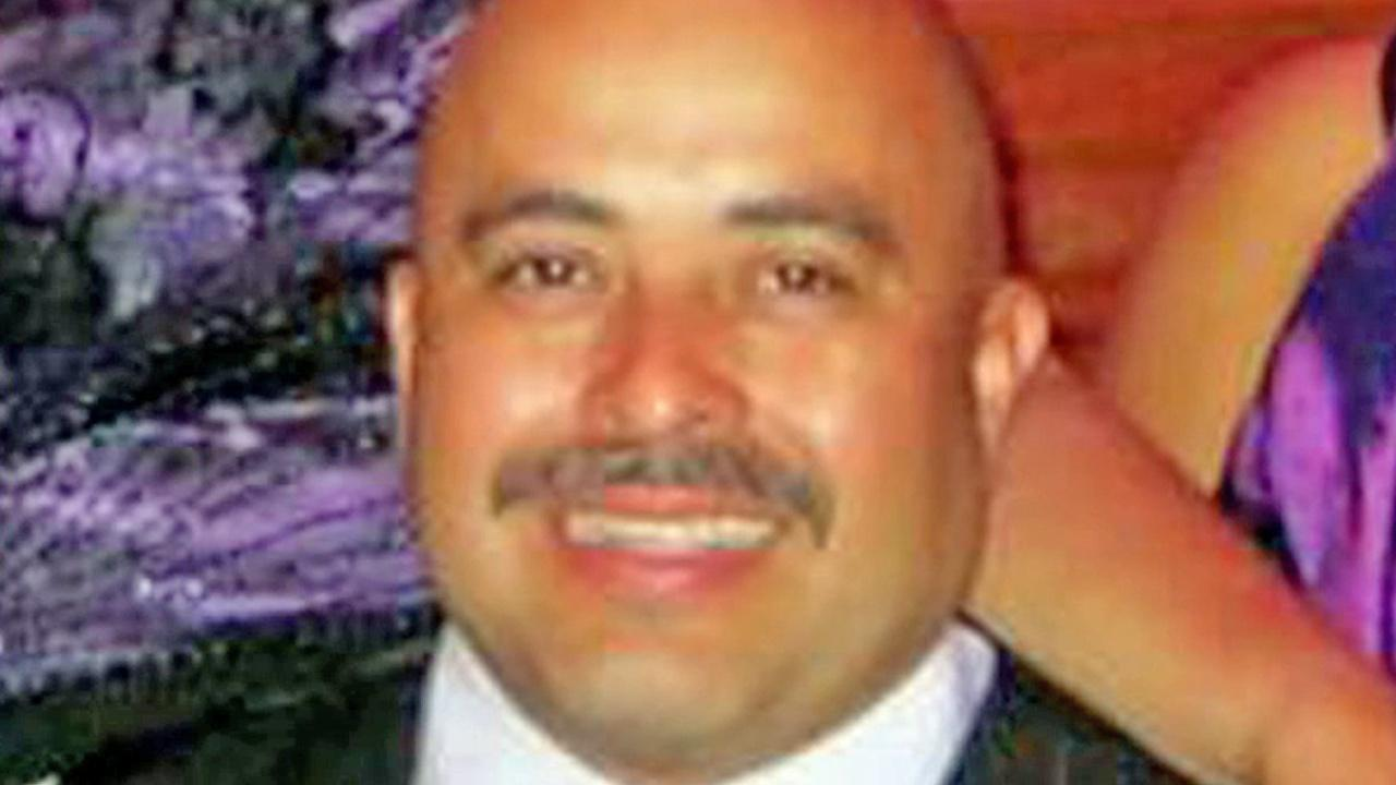 TSA Officer Gerardo Hernandez, 39, is seen in this undated file photo. He was shot and killed in a shooting at LAX on Friday, Nov. 1, 2013.