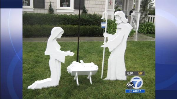Nativity scene stolen from Temecula yard