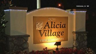 The Alicia Village apartments in Laguna Hills is seen.