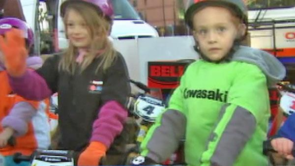 Motorcycle co. donates bikes
