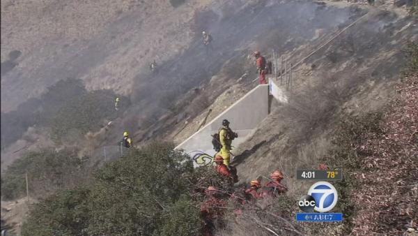 High fire danger keeps firefighters on alert