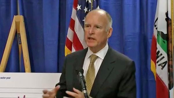 Gov. declares drought emergency in California