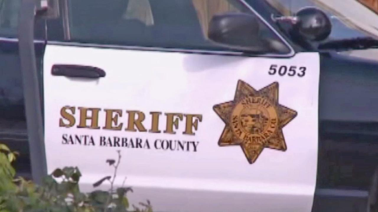 A Santa Barbara County sheriffs car is seen in this undated file photo.