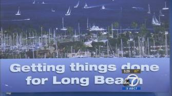 A mailer for Long Beach mayoral candidate Bonnie Lowenthal wrongly featured the San Diego skyline.