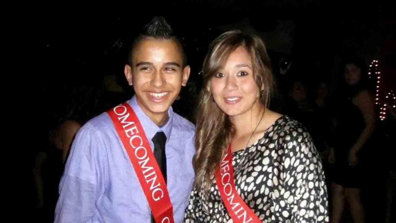 Ismael Jimenez and Denise Gomez are seen in this undated file photo. Both were killed in the Northern California bus crash on Thursday, April 10, 2014.Photo provided by family