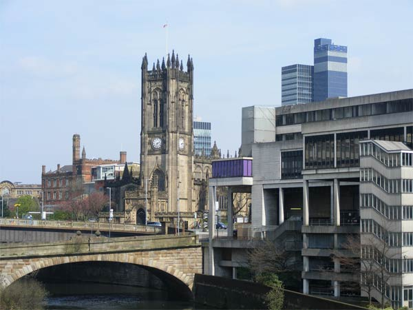 Manchester, U.K. ranked  No. 1 on Foursquare&#39;s list of the rudest cities in the world. <span class=meta>(flickr&#47;Pimlico Badger)</span>