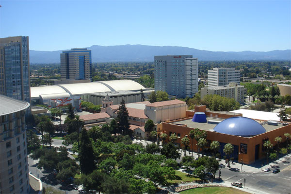 San Jose, Calif. ranked  No. 11 on Foursquare's...