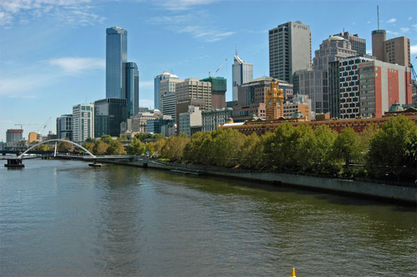 Melbourne, Australia ranked  No. 16 on Foursquare's list of the rudest cities in the world.