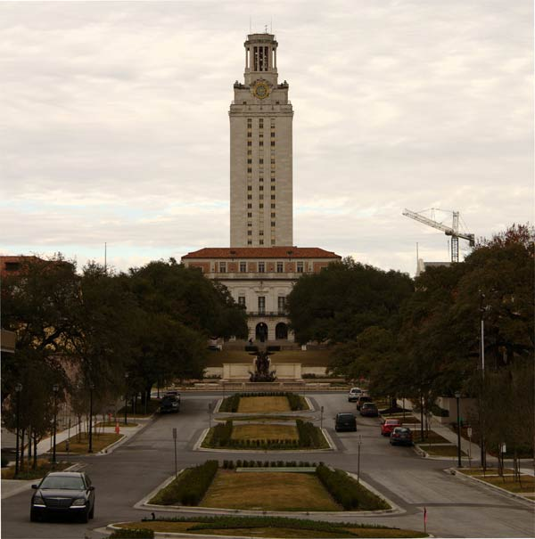 University of Texas at Austin ranke