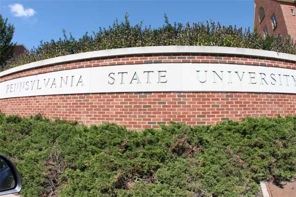 Pennsylvania State University ranked No. 2 on...