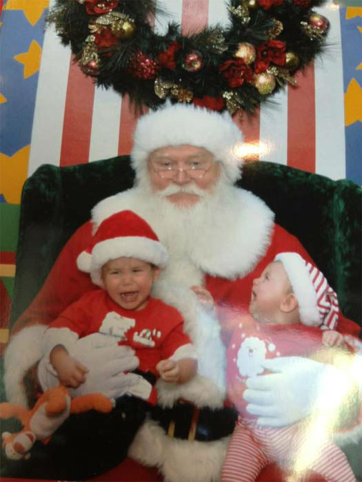 "<div class=""meta ""><span class=""caption-text "">ABC7 viewer Monica Jones-Wiegman posted this photo to the ABC7 Facebook wall of her son, Drew, and daughter, Dakota, with Santa Claus.  Post your own photo, and don't forget to tag yourself. Your photo may be used on Eyewitness News! (KABC Photo/ ABC7 viewer Monica Jones-Wiegman)</span></div>"