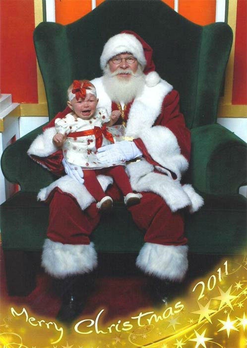 ABC7 viewer Tina Louise Grantham posted this photo to the ABC7 Facebook wall of little Lisa Lyn with Santa Claus.  Post your own photo, and don&#39;t forget to tag yourself. Your photo may be used on Eyewitness News! <span class=meta>(KABC Photo&#47; ABC7 viewer Tina Louise Grantham)</span>