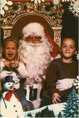 ABC7 viewer Elisa Rae Hansen posted this photo to the ABC7 Facebook wall of her kids with Santa Claus.  Post your own photo, and don&#39;t forget to tag yourself. Your photo may be used on Eyewitness News! <span class=meta>(KABC Photo&#47; ABC7 viewer Elisa Rae Hansen)</span>