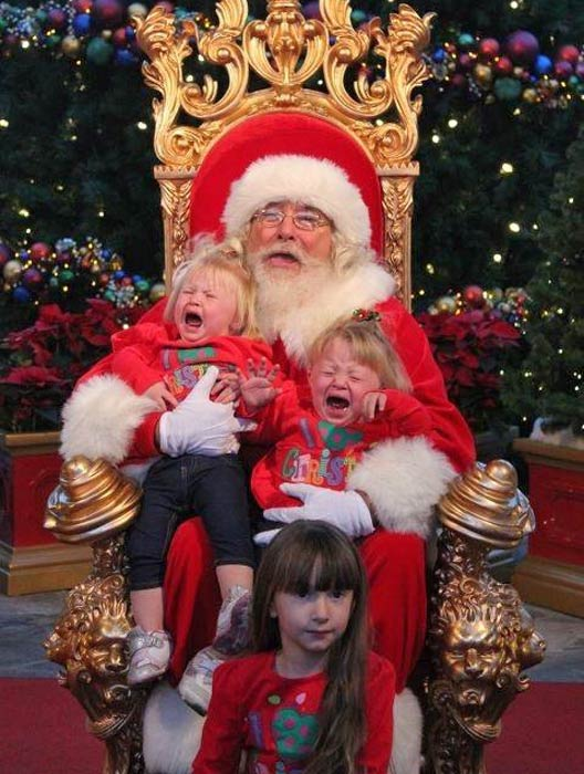 ABC7 viewer Tisha Partida posted this photo to the ABC7 Facebook wall of her nieces -- Paige, Madison and Jade -- with Santa Claus.  Post your own photo, and don&#39;t forget to tag yourself. Your photo may be used on Eyewitness News! <span class=meta>(KABC Photo&#47; ABC7 viewer Tisha Partida)</span>