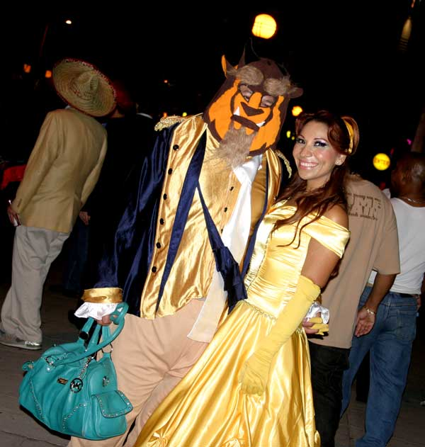 &#39;Beauty and the Beast&#39; theme at the West Hollywood Halloween Costume Carnaval in West Hollywood on Wednesday, Oct. 31, 2012. <span class=meta>(ABC7)</span>