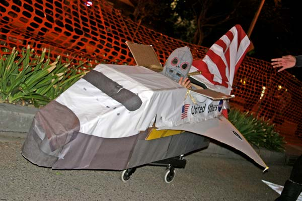 &#39;Endeavour&#39; theme at the West Hollywood Halloween Costume Carnaval in West Hollywood on Wednesday, Oct. 31, 2012. <span class=meta>(ABC7)</span>