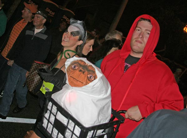 &#39;E.T. the Extra-Terrestrial&#39; theme at the West Hollywood Halloween Costume Carnaval in West Hollywood on Wednesday, Oct. 31, 2012. <span class=meta>(ABC7)</span>