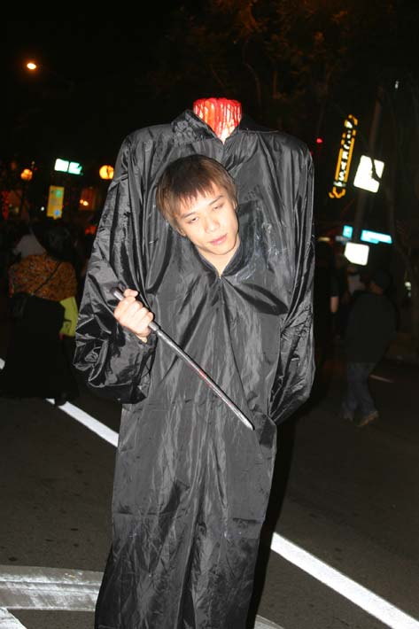 "<div class=""meta ""><span class=""caption-text "">A reveler at the West Hollywood Halloween Costume Carnaval in West Hollywood on Wednesday, Oct. 31, 2012. (ABC7)</span></div>"