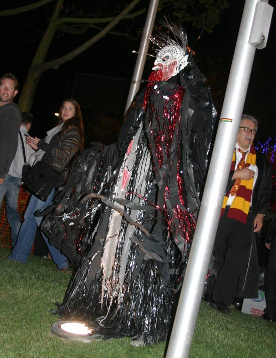 A reveler at the West Hollywood Halloween Costume Carnaval in West Hollywood on Wednesday, Oct. 31, 2012. <span class=meta>(ABC7)</span>