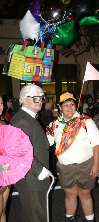 &#39;Up&#39; movie theme at the West Hollywood Halloween Costume Carnaval in West Hollywood on Wednesday, Oct. 31, 2012. <span class=meta>(ABC7)</span>