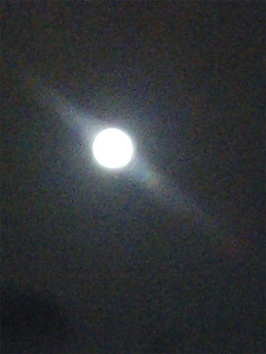 An ABC7 viewer sent in this photo of the &#39;supermoon&#39; on Saturday, June 22, 2013. When You Witness breaking news, or even something extraordinary, send pictures and video to video@abc7.com, or post them to the ABC7 Facebook page or to @abc7 on Twitter  <span class=meta>(ABC7 viewer)</span>
