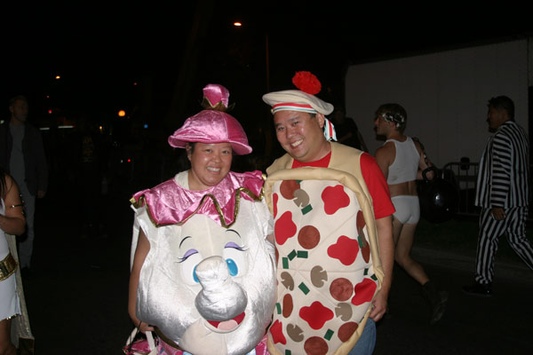 "<div class=""meta ""><span class=""caption-text "">Lisa Lew and Bill Switzer pose for a photo during the West Hollywood Halloween Costume Carnaval on Thursday, Oct. 31, 2013. (ABC7)</span></div>"