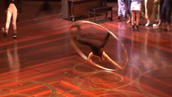 The new Cirque du Soleil show 'Iris' is taking up a permanent residence at Hollywood's Kodak Theatre. While dozens of talented a