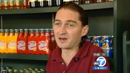 Waiter Greg Rubar, pictured above, received a $5,000 tip from two regulars at DAmicos Italian Market Cafe in Houston, Texas, on Saturday, May 28, 2012.
