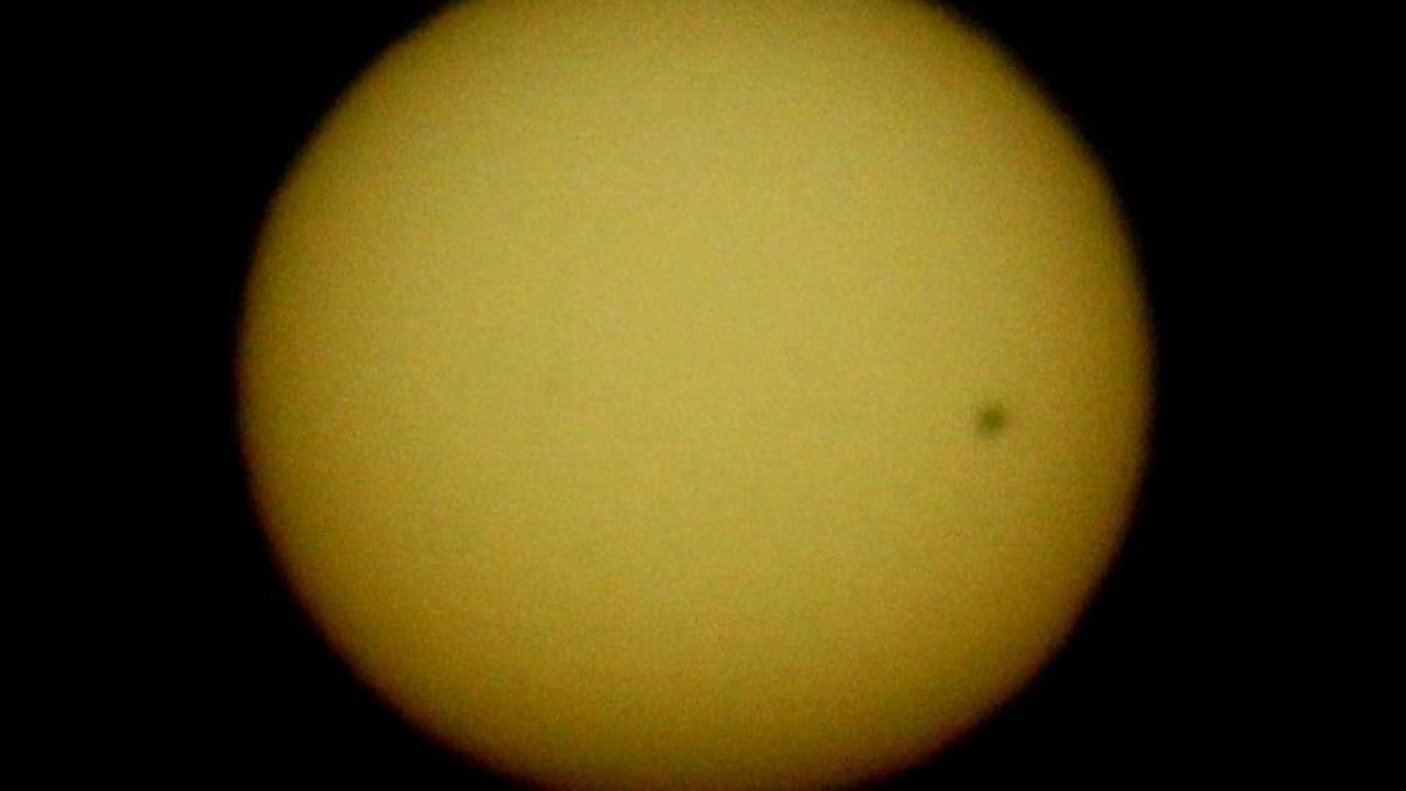 Transit of Venus photo <span class=meta>(ABC7 viewer Sandy French)</span>
