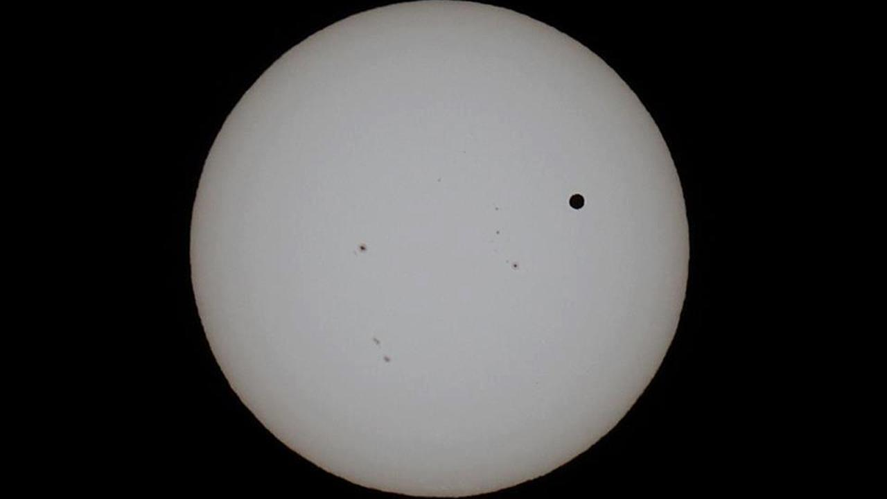 Transit of Venus photo <span class=meta>(ABC7 viewer Daniel Perry)</span>