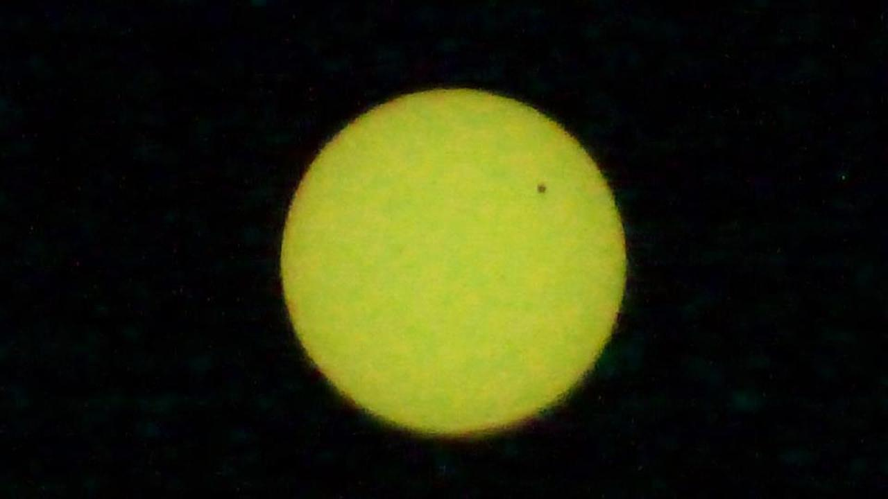 Transit of Venus photoABC7 viewer Baybi Leonor