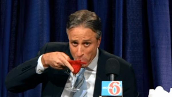 Jon Stewart appears on 'The Daily Show' on June 7, 2011.