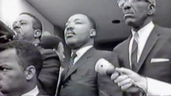 Martin Luther King recording found in attic